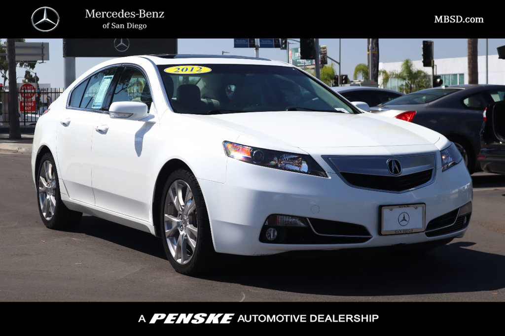 Pre-Owned 2012 Acura TL 4dr Sedan Automatic SH-AWD Advance
