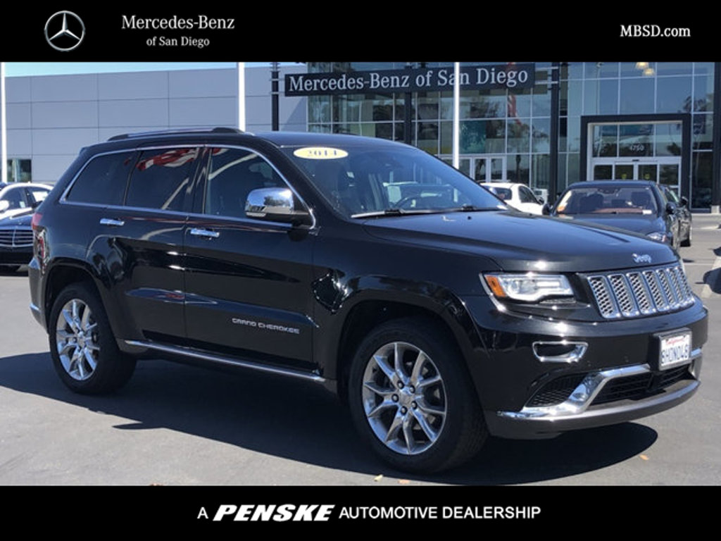 Pre-Owned 2014 Jeep Grand Cherokee 4WD 4dr Summit