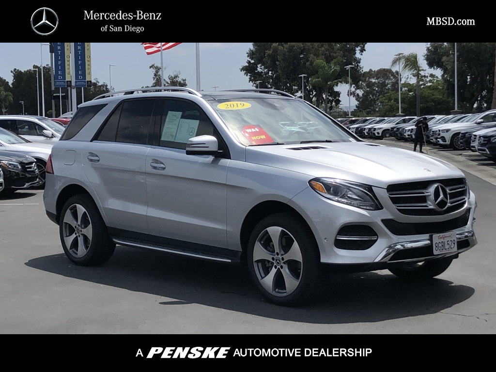 Certified Pre-Owned 2019 Mercedes-Benz GLE 400 AWD 4MATIC®