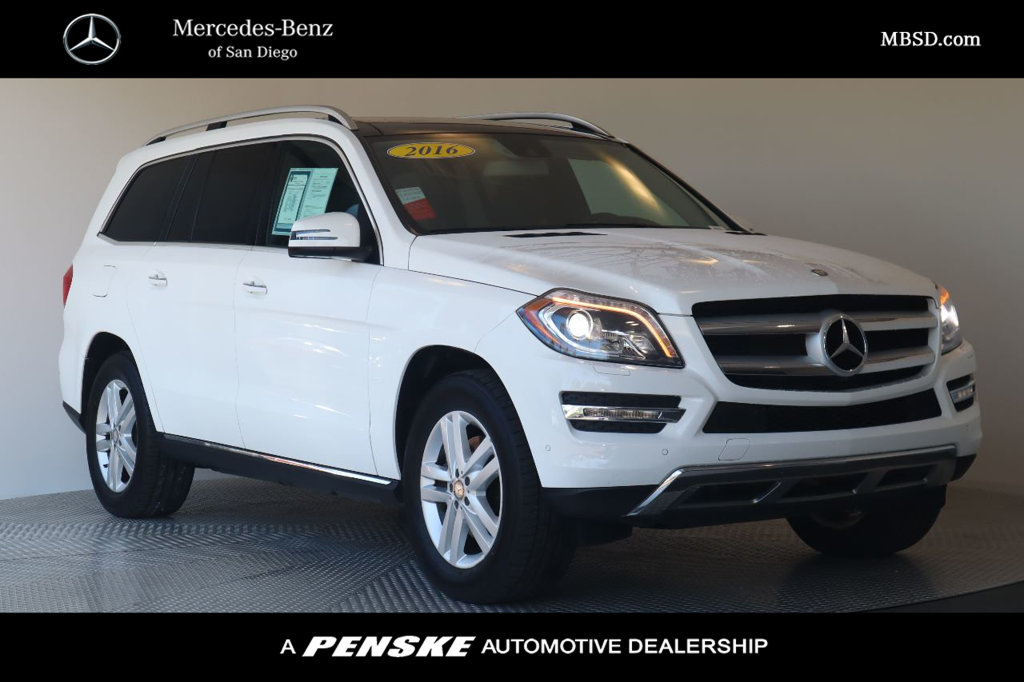 Pre-Owned 2016 Mercedes-Benz GL GL 350
