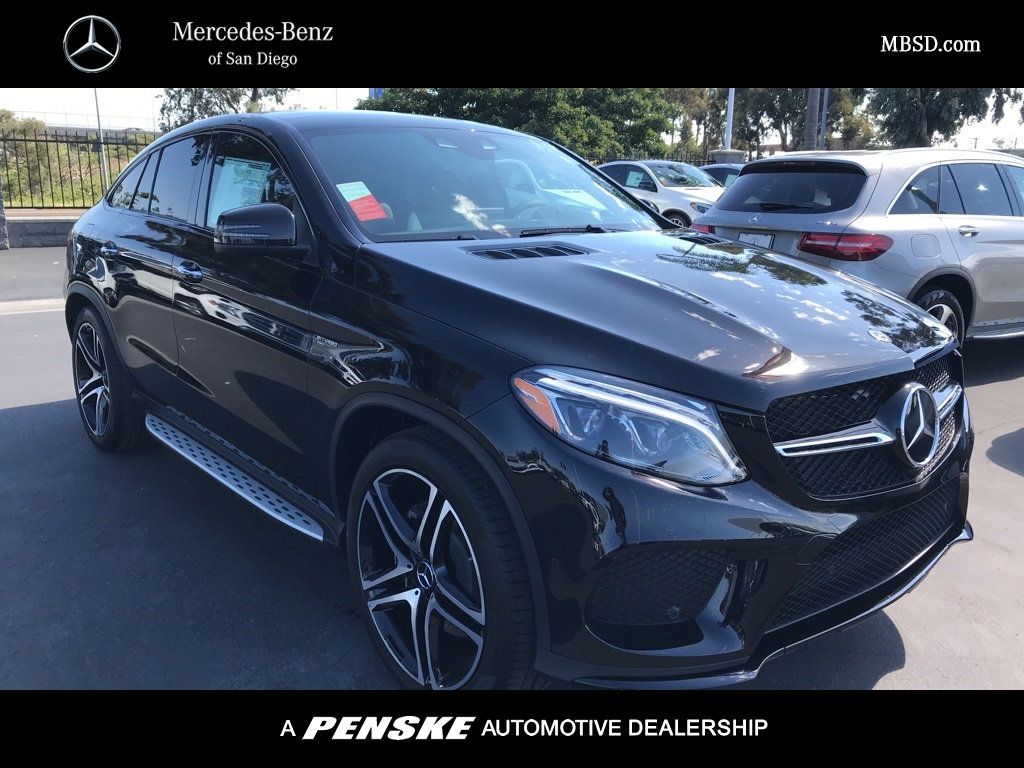 San Diego Mercedes >> New 2019 Mercedes Benz Amg Gle 43 Coupe Awd 4matic