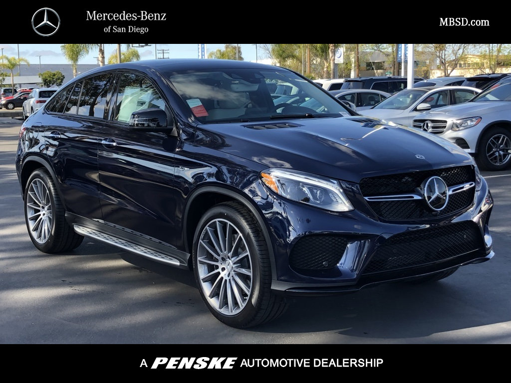 New 2019 Mercedes Benz Gle Amg Gle 43 Coupe Coupe In San Diego