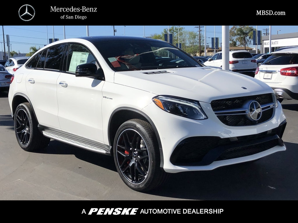 New 2019 Mercedes Benz Gle Amg Gle 63 S Coupe Coupe In San Diego