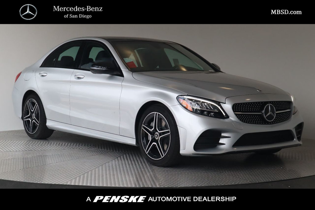 San Diego Mercedes >> New 2020 Mercedes Benz C 300 Rear Wheel Drive Sedan
