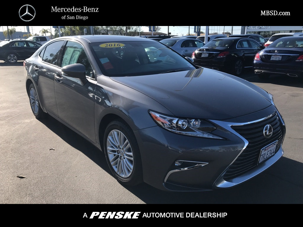 Pre-Owned 2016 Lexus ES 350 4dr Sedan