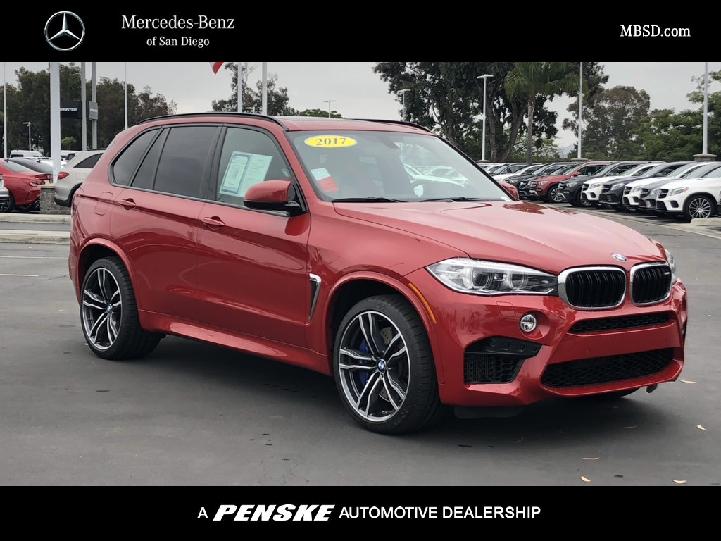 Pre-Owned 2017 BMW X5 M Sports Activity Vehicle