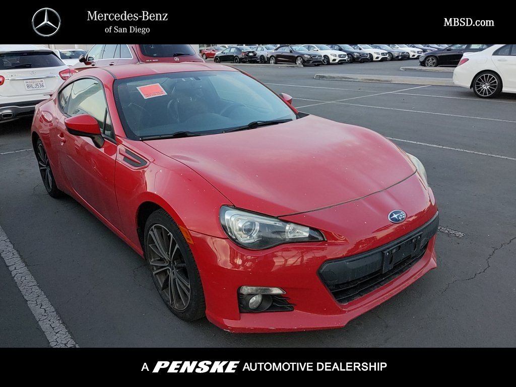 Pre-Owned 2013 Subaru BRZ 2dr Coupe Limited Manual