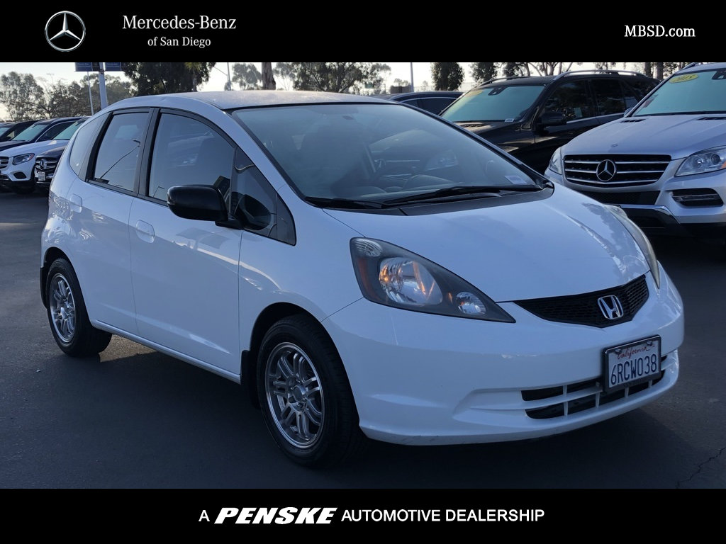 Pre-Owned 2011 Honda Fit 5dr Hatchback Manual