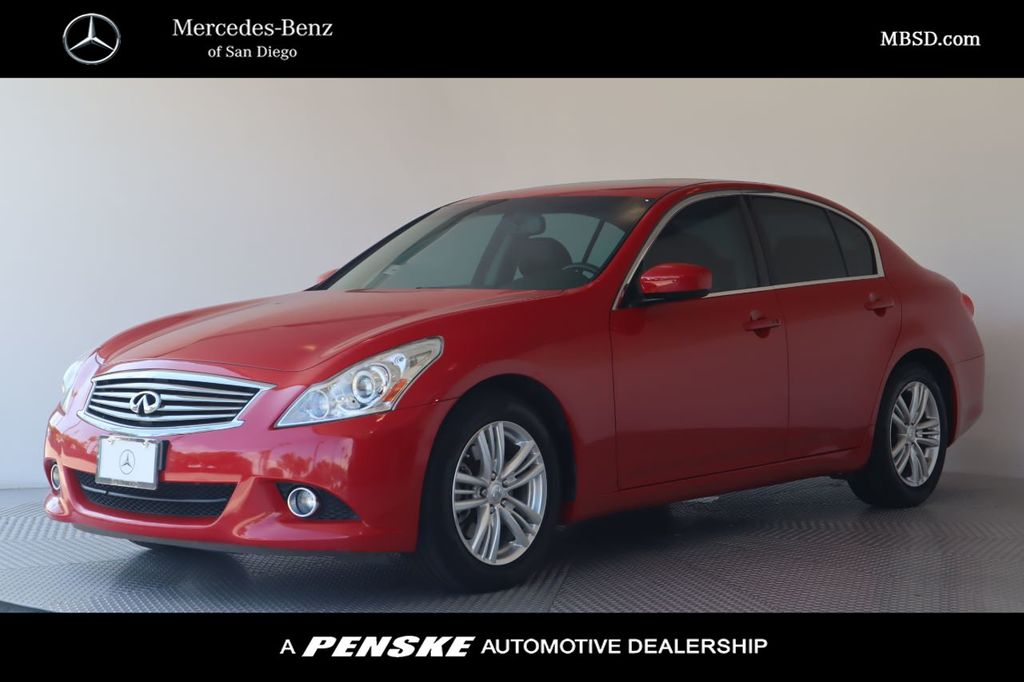 Pre-Owned 2012 INFINITI G37 Sedan 4dr Journey RWD