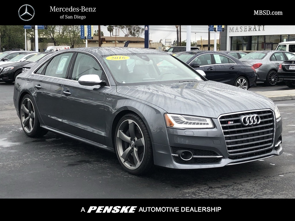 Pre-Owned 2016 Audi S8 4DR SDN