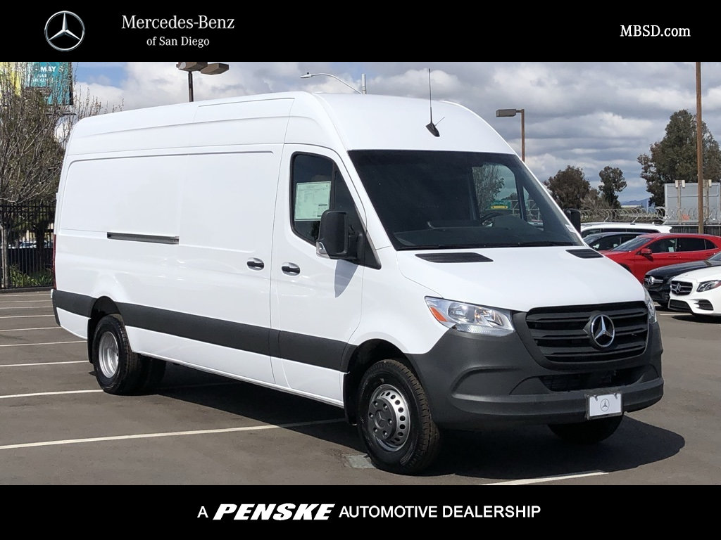 New 2019 Mercedes-Benz Sprinter 4500 Cargo Van 170 Wheelbase