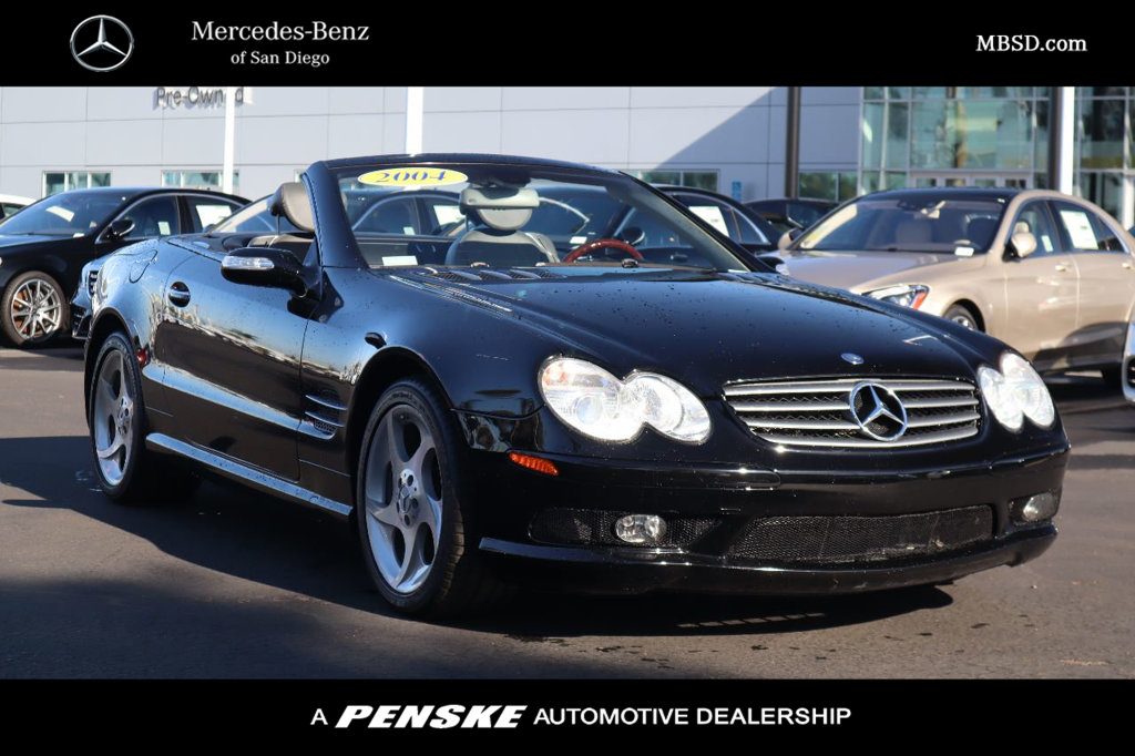 Pre-Owned 2004 Mercedes-Benz SL-Class SL 500