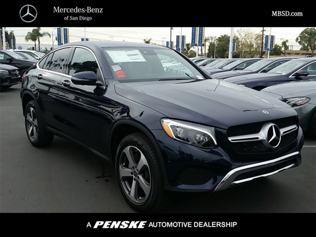 New 2018 mercedes benz glc glc 300 coupe in san diego for San diego mercedes benz service