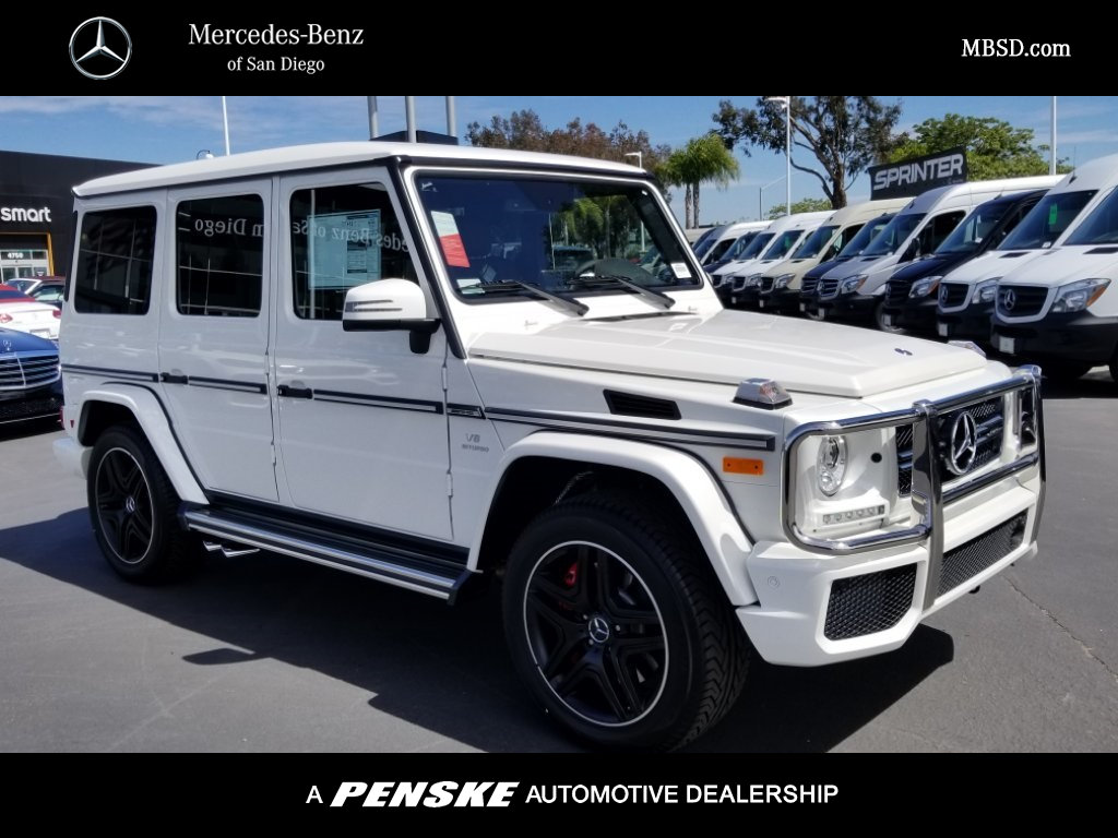 New 2018 mercedes benz g class amg g 63 suv suv in san for San diego mercedes benz service