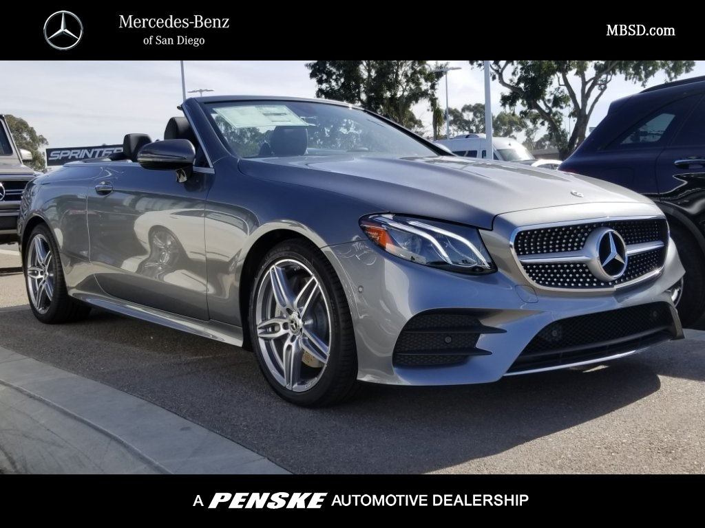 All Types cabriolet mercedes e class : New 2018 Mercedes-Benz E-Class E 400 Sport CABRIOLET in San Diego ...