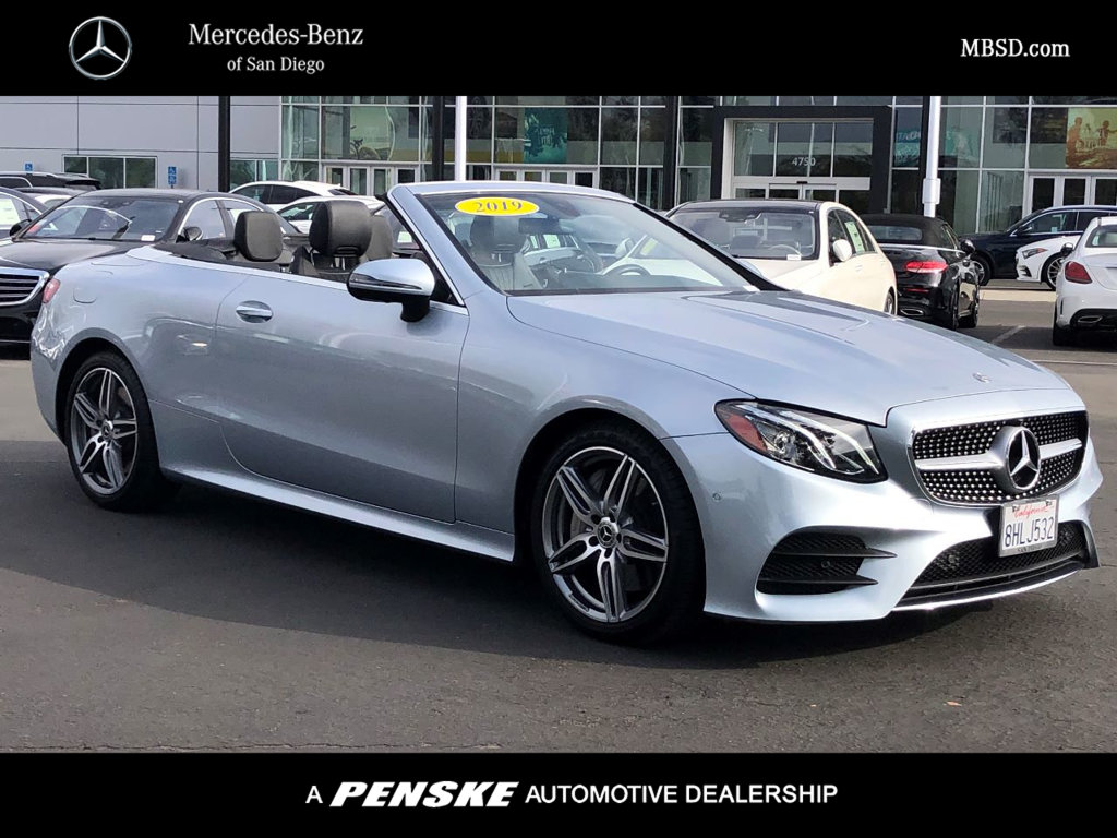 Certified Pre-Owned 2019 Mercedes-Benz E 450 Sport Rear Wheel Drive CABRIOLET
