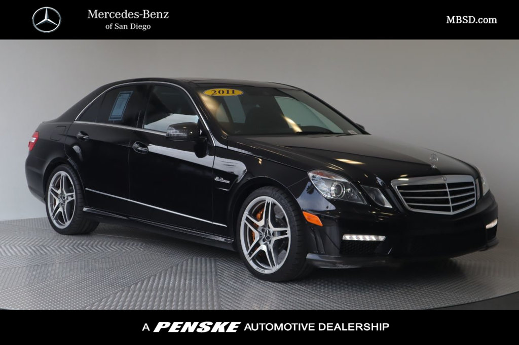 Pre-Owned 2011 Mercedes-Benz E-Class AMG® E 63