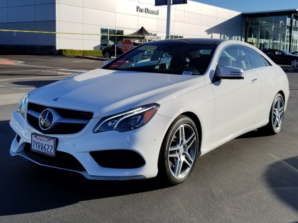 Pre owned 2017 mercedes benz e class e 550 sport coupe in for San diego mercedes benz service