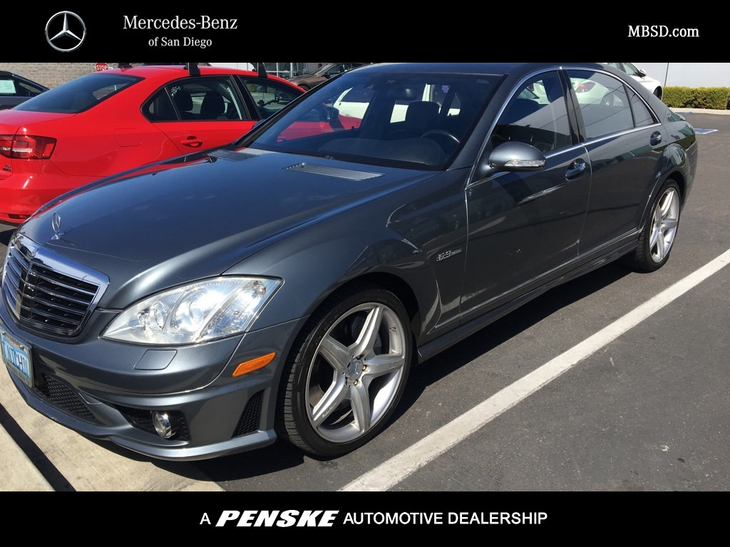 Pre owned 2008 mercedes benz s class amg s 63 sedan in for Pre owned mercedes benz s class