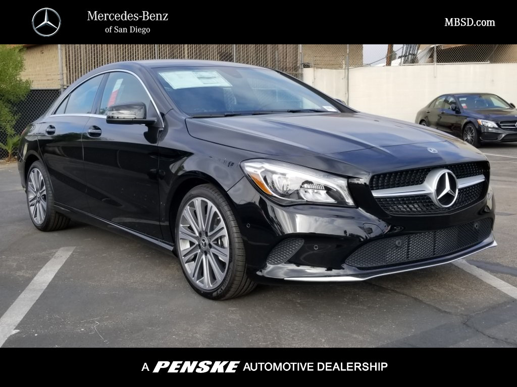 New 2018 mercedes benz cla cla 250 coupe in san diego for Mercedes benz cla 250 msrp