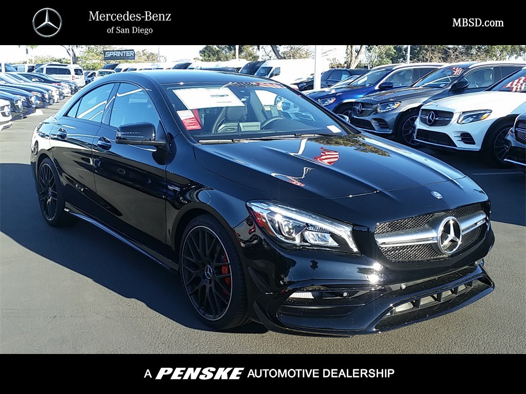 New 2018 mercedes benz cla cla 45 amg coupe coupe in san for San diego mercedes benz service