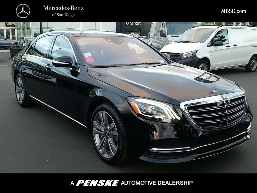 new 2018 mercedes benz s class s 450 sedan in san diego