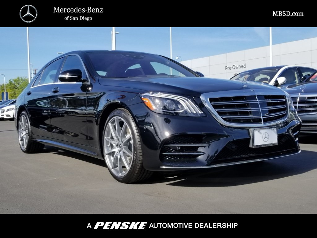 New 2018 mercedes benz s class s 450 sedan in san diego for San diego mercedes benz service