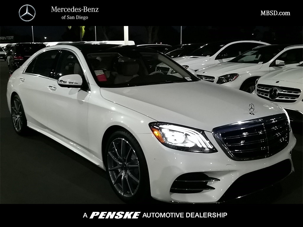 Mercedes Benz Certified Pre Owned >> New 2018 Mercedes-Benz S-Class S 450 SEDAN in San Diego #55394 | Mercedes-Benz of San Diego