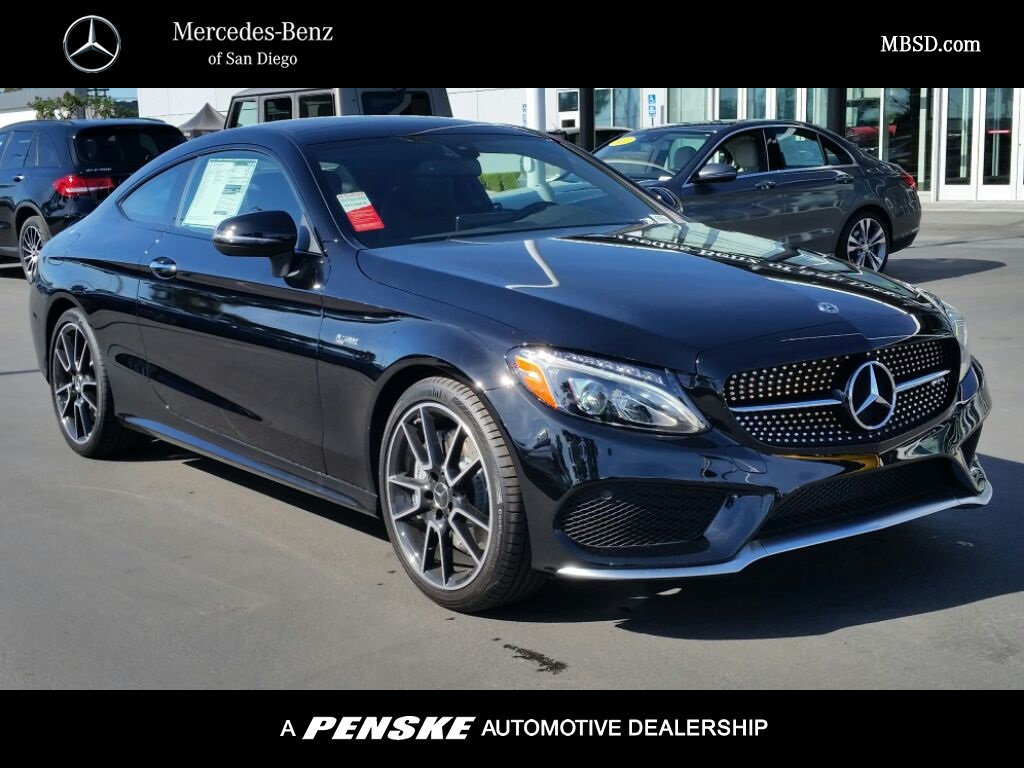 New 2018 mercedes benz c class amg c 43 coupe coupe in for San diego mercedes benz service