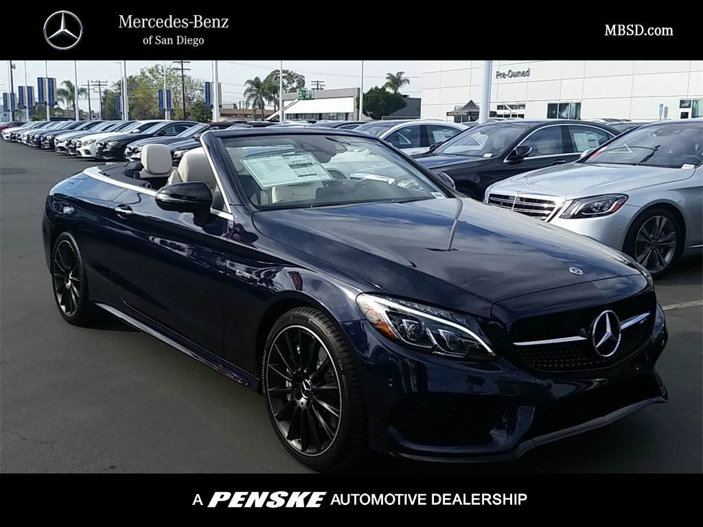 New 2018 mercedes benz c class amg c 43 cabriolet for San diego mercedes benz service
