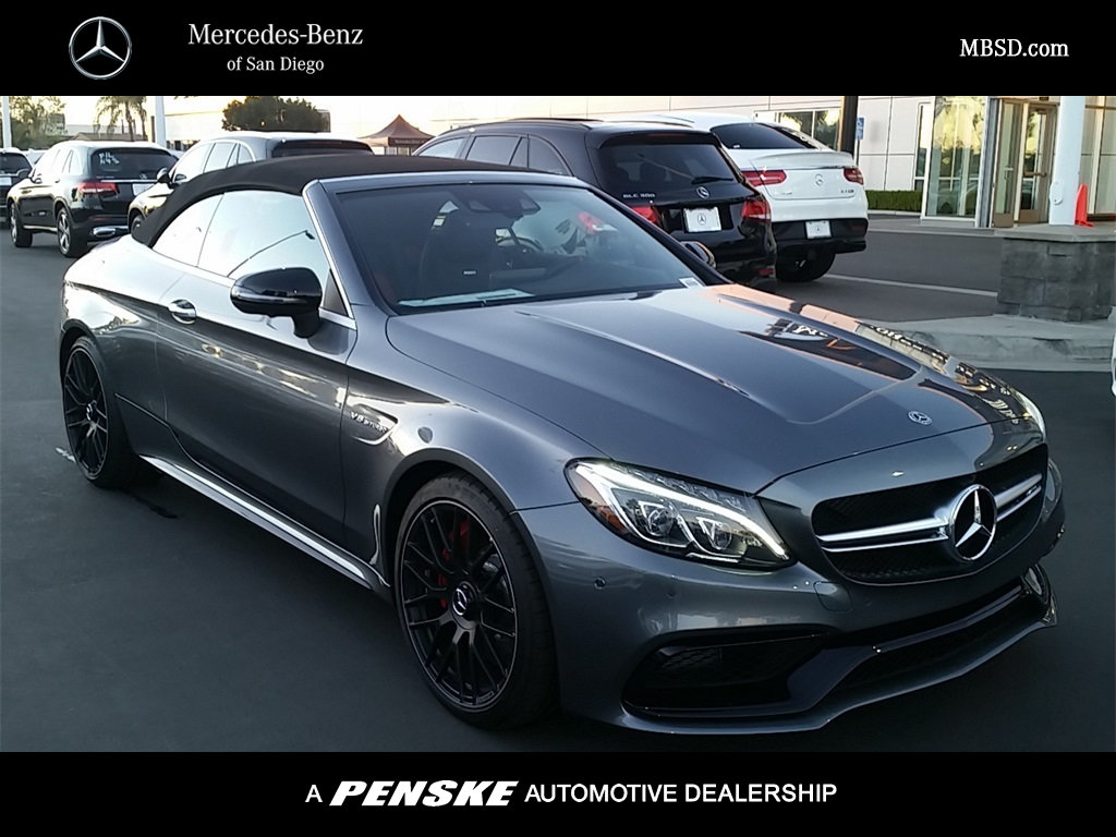 New 2018 mercedes benz c class amg c 63 s cabriolet for San diego mercedes benz service