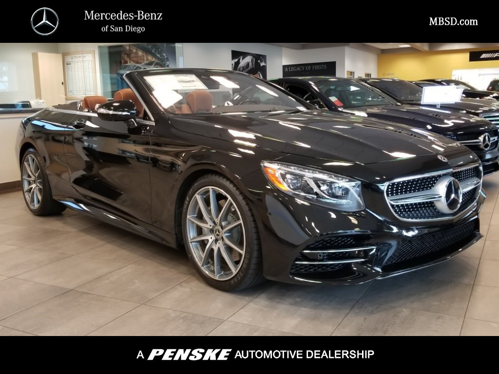 New 2018 mercedes benz s class s 560 cabriolet in san for San diego mercedes benz service