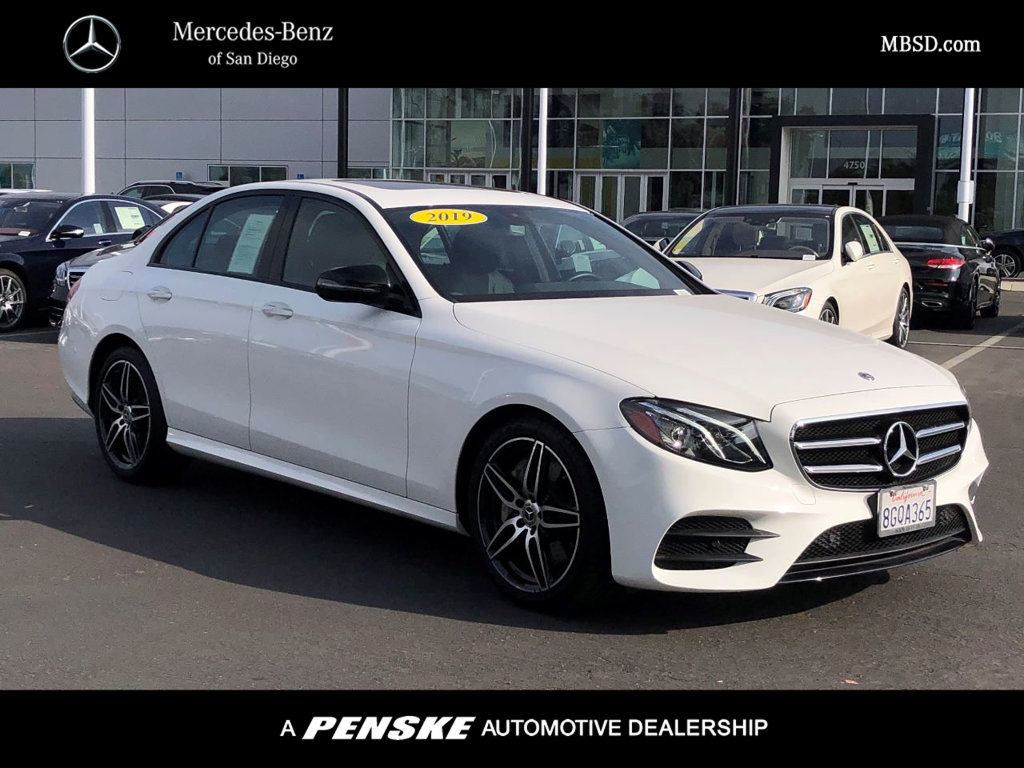 Certified Pre-Owned 2019 Mercedes-Benz E 300 Rear Wheel Drive SEDAN