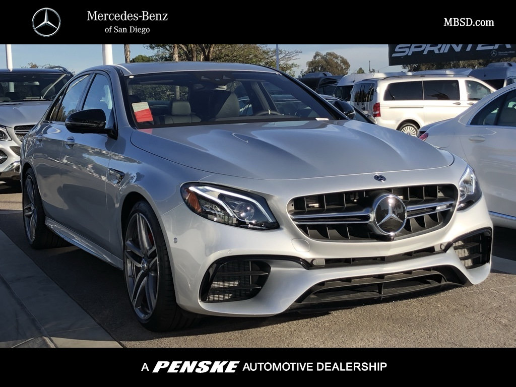 New 2019 Mercedes Benz E Class Amg E 63 S Sedan Sedan In San Diego