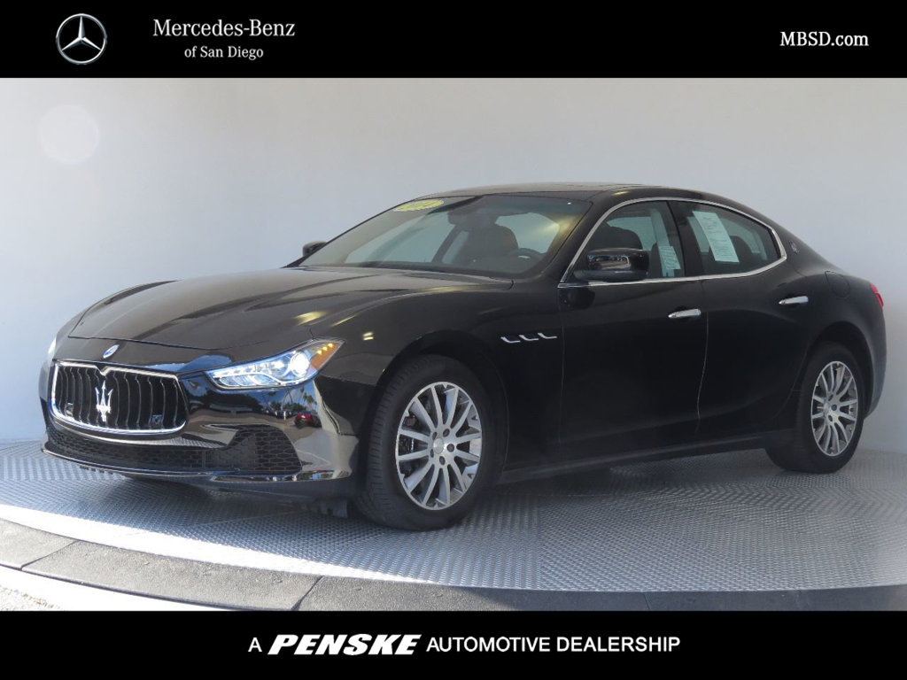 Pre-Owned 2014 Maserati Ghibli 4dr Sedan S Q4