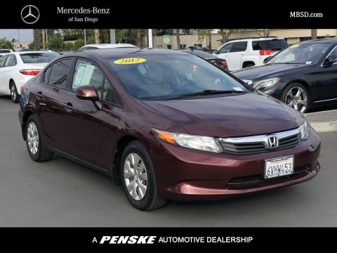 Pre-Owned 2012 Honda Civic Sedan 4dr Automatic LX