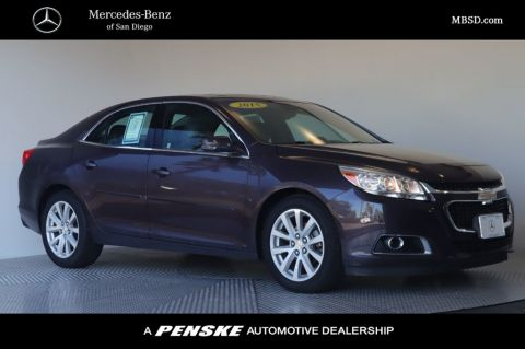 Pre-Owned 2015 Chevrolet Malibu 4dr Sedan LT w/2LT