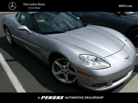 Pre Owned 2007 Chevrolet Corvette 2dr Coupe