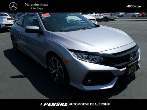 Pre-Owned 2017 Honda Civic Coupe COUPE 2DR CPE SI MANUAL