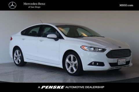 Pre-Owned 2016 Ford Fusion 4dr Sedan S FWD