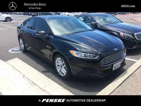 Pre-Owned 2016 Ford Fusion 4dr Sedan SE FWD