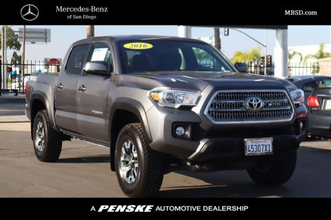 Pre-Owned 2016 Toyota Tacoma TRD Sport Double Cab 2WD V6 Automatic