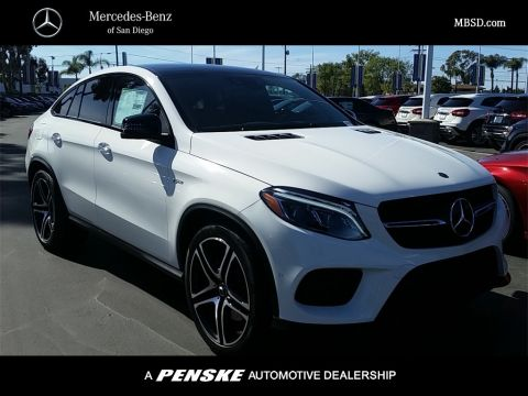 New 2018 Mercedes-Benz GLE 43 AMG® Coupe AWD 4MATIC®