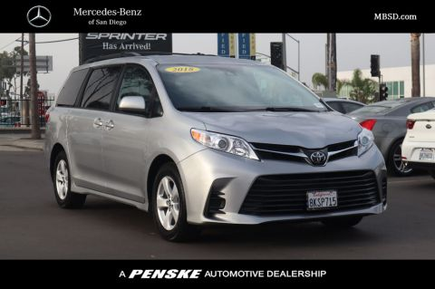 Pre-Owned 2018 Toyota Sienna Base; Limited; LE; XLE