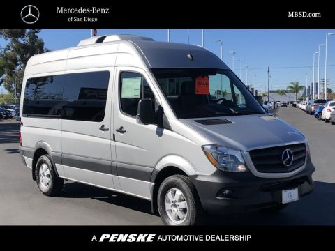 New 2018 Mercedes-Benz Sprinter 2500 Passenger Van