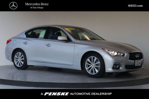 Pre-Owned 2014 INFINITI Q50 4dr Sedan RWD Premium