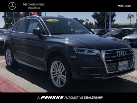 Pre-Owned 2018 Audi Q5 4DR SUV 2.0 TFSI
