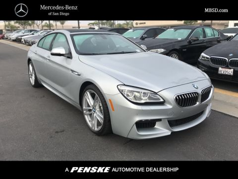 Pre-Owned 2016 BMW 6 Series 640i Gran Coupe RWD