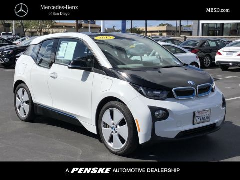 Pre-Owned 2015 BMW i3 Hatchback w/Range Extender