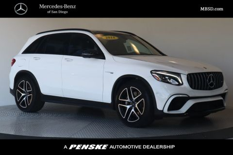 Certified Pre-Owned 2018 Mercedes-Benz GLC AMG® GLC 63 SUV